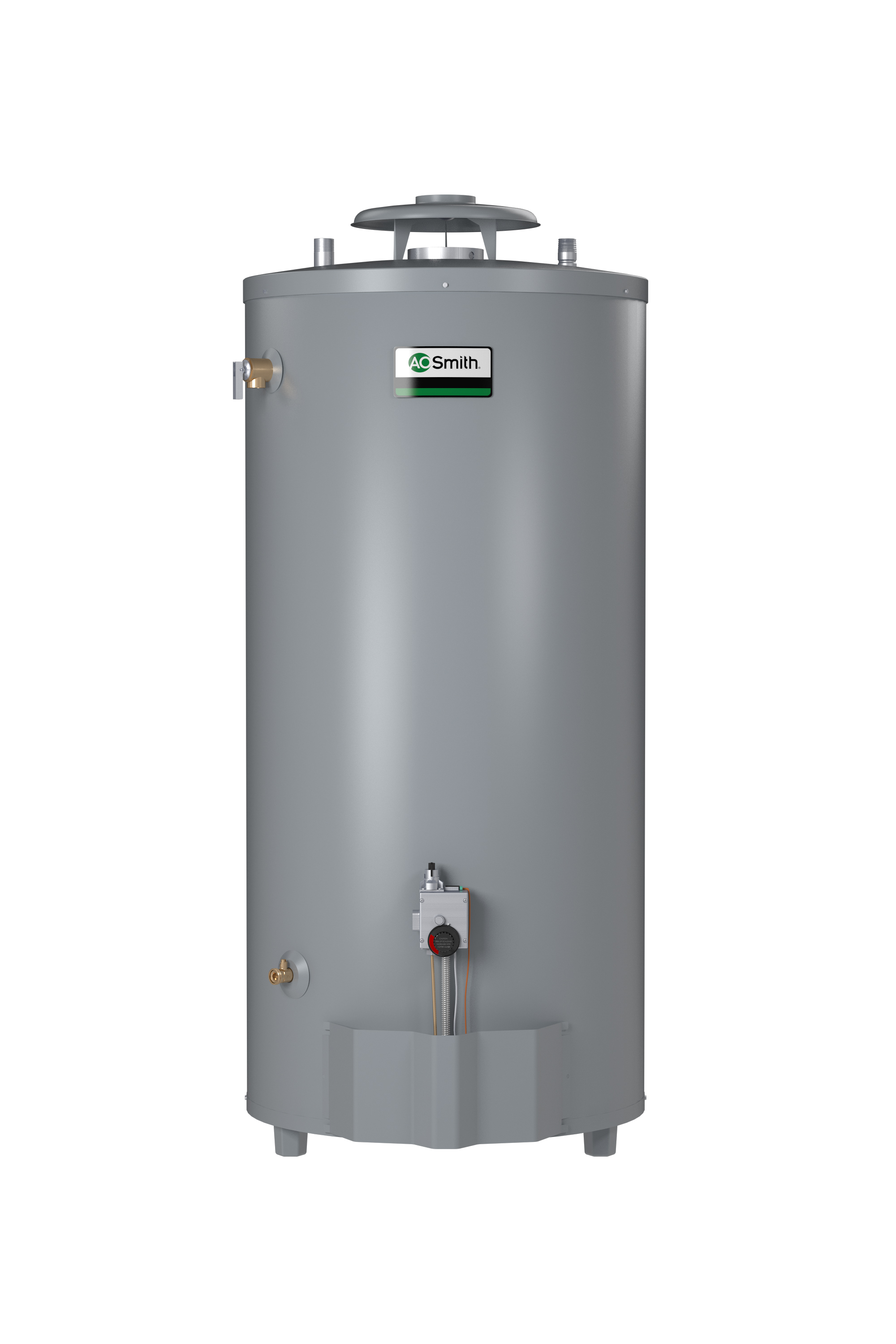 AO SMITH BT-100: 98 GALLON, 75,100 BTU,  4inch VENT, CONSERVATIONIST SINGLE FLUE, LIGHT DUTY, NATURAL GAS COMMERCIAL WATER HEATER