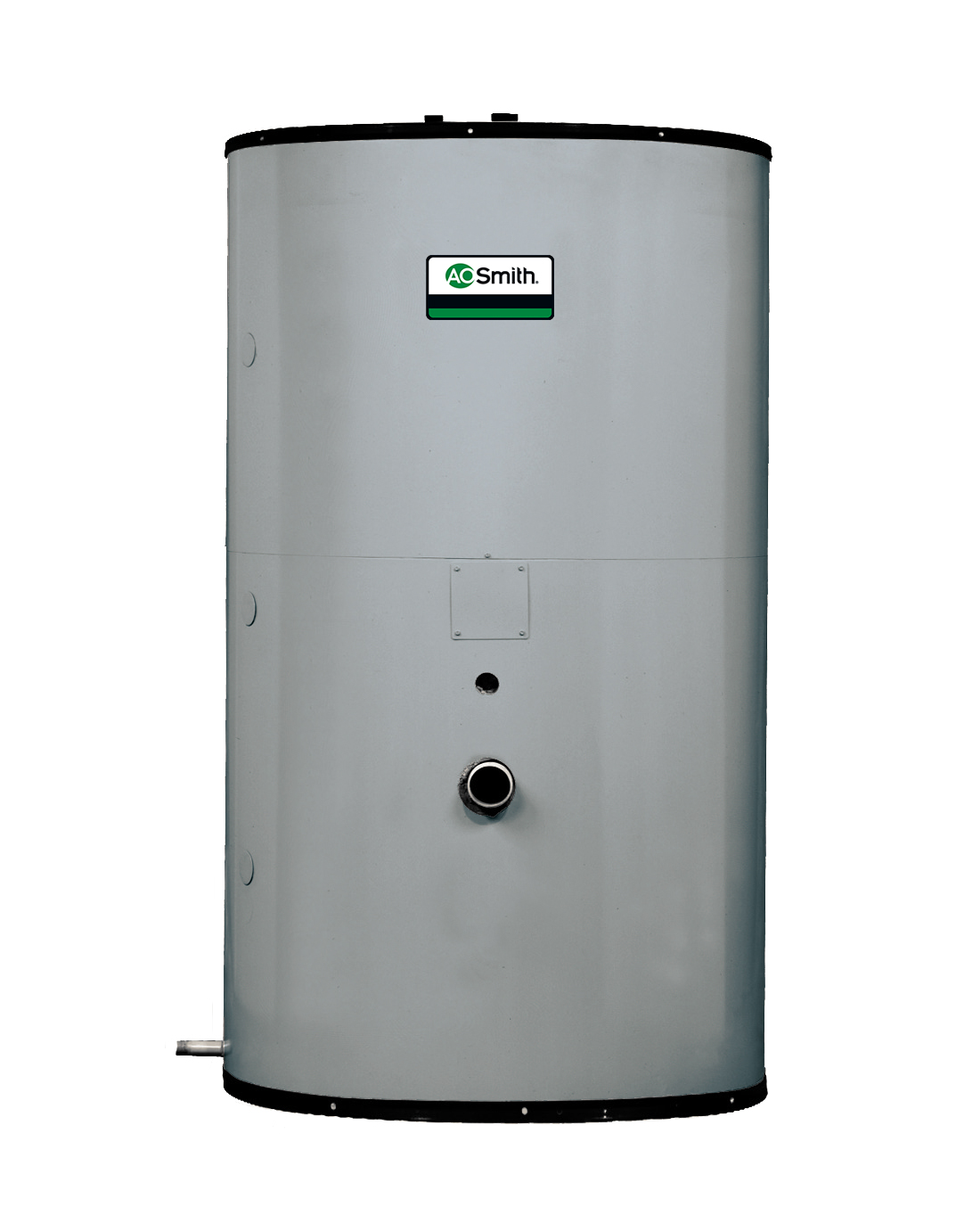 AO SMITH TJ80A: 80-GALLON, JACKETED-VERTICAL STORAGE TANK, 160 PSI (SHIP OUT OF MCBEE, SC)