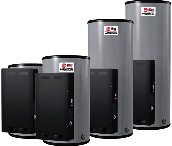 RHEEM E12A-3-G: 13 GALLONS, 3-KW, 208 VOLT, 1-PHASE, 15-AMPS, ASME ELECTRIC WATER HEATER, POWERPACK WITH SENTINEL DIAGNOSTIC SYSTEM