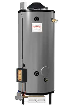 RHEEM G100-200: 100-GALLON, 199,000 BTU, NATURAL GAS WATER HEATER, 6inch VENT, UNIVERSAL SERIES