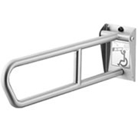 BRADLEY 8372-108000: BX, 1-1/4inch X 29inch, SWING-UP, SAFETY-GRIP FINISH, STAINLESS STEEL GRAB BAR (NON-RETURNABLE, NON-REFUNDABLE)