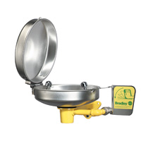 BRADLEY S45-2396: STAINLESS STEEL RETROFIT DUST COVER, LID & BOWL INCLUDED