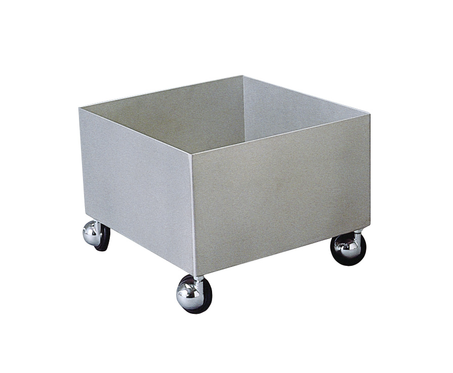 BRADLEY S19-690A: STAINLESS STEEL TRANSPORT CART