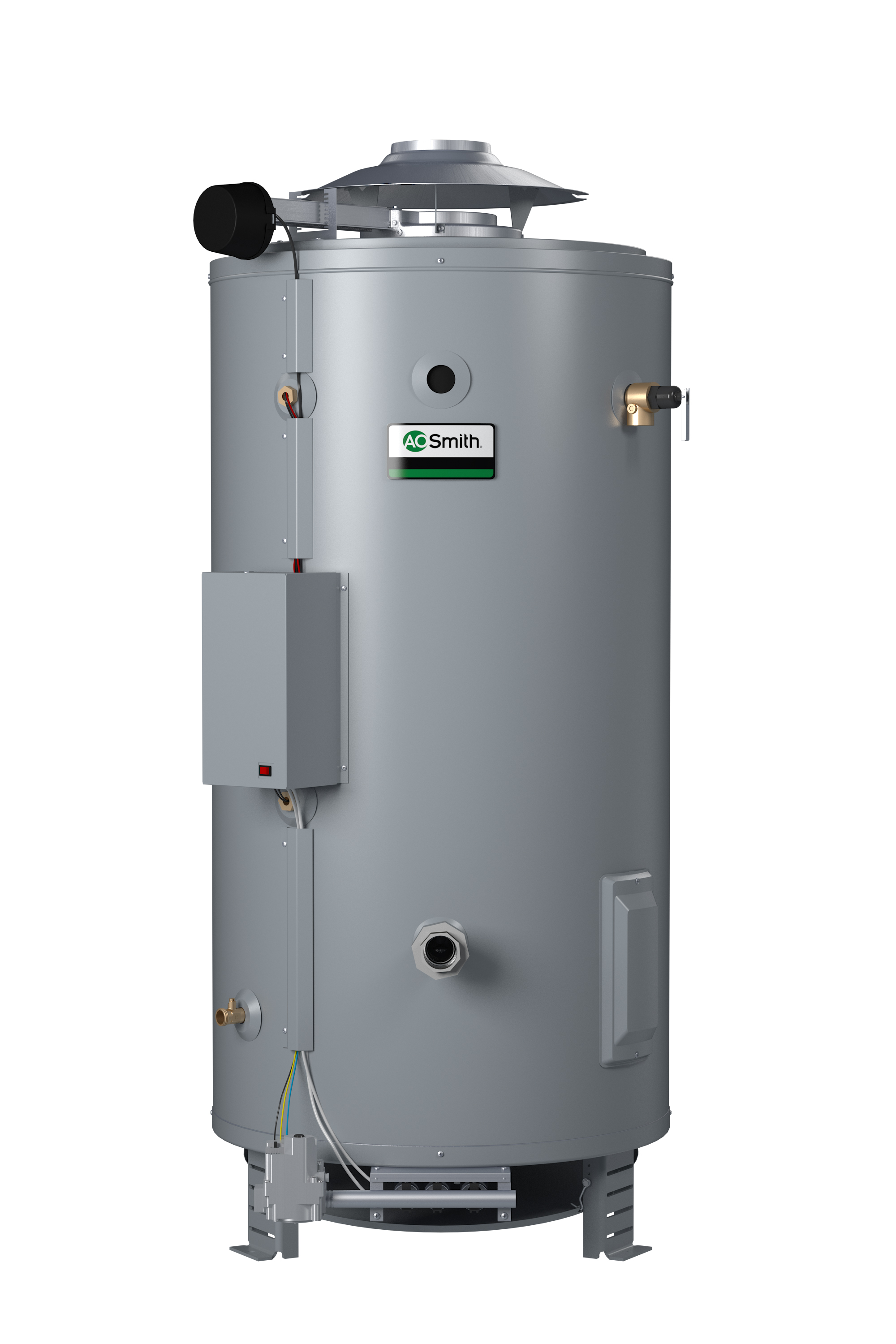 AO Smith BTL Water Heater Lo Nox Natural Gas