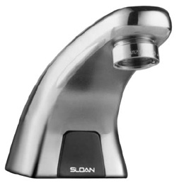 SLOAN 3315114BT: EBF615-4-BAT-CP-0.5-MLM-FCT, OPTIMA SERIES FAUCET